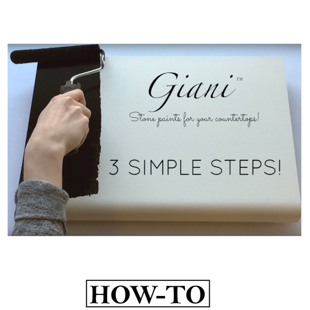 Instructions on how to apply Giani Granite Paint