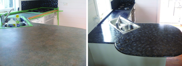 New Zealand makeover using Giani Granit Paint