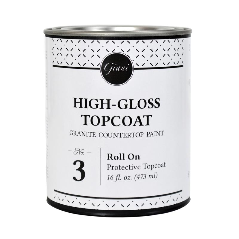 Clear High-Gloss Topcoat - 473ml Tin