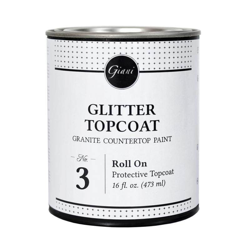 Glitter High-Gloss Topcoat - 473ml Tin